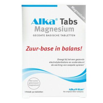 Alka Tabs magnesium voor ontzuren van het lichaam bestellen