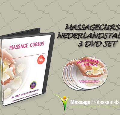 Massage cursus nederlandstalig 3 dvd set