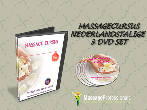 Massage cursus nederlandstalig 3 dvd set
